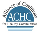 Alliance of Coalition for Healthy Communities